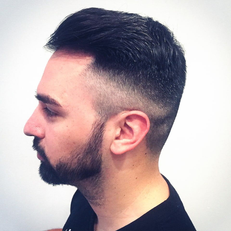 mens fade haircut tribeca salons Tampa portfolio