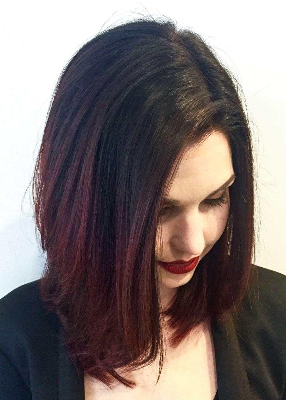 ombre lob hair style tribeca salons portfolio