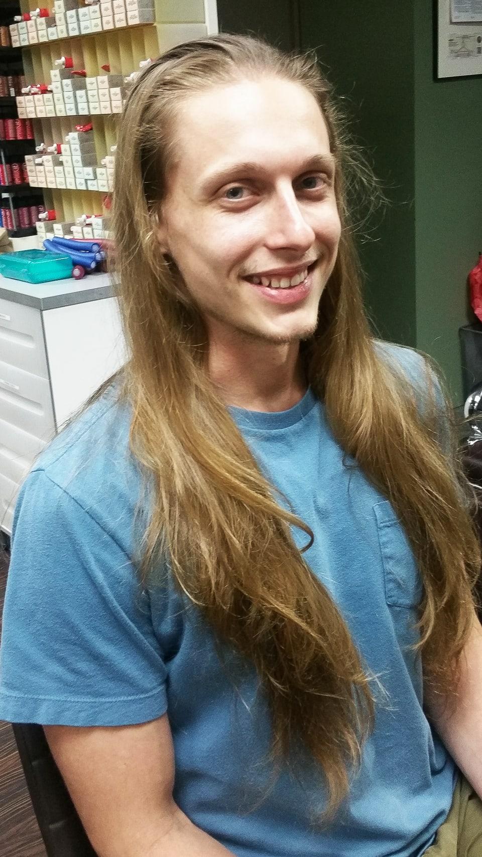 Mens haircut Tampa Before Tribeca Salon South Tampa