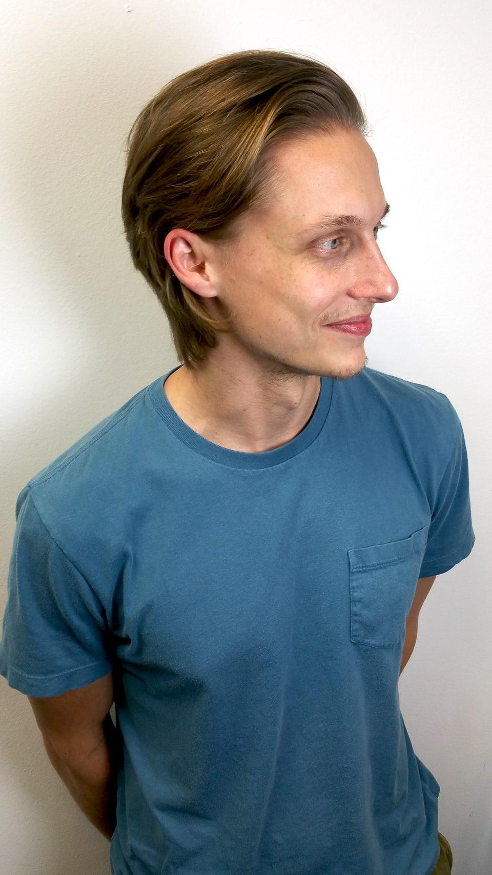 Mens haircut Tampa After Tribeca Salon South Tampa