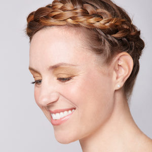 Braided Crown Easy Holiday Hair Tribeca Salons Tampa