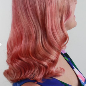 living coral 2019 hair color trends Tribeca Salon Tampa