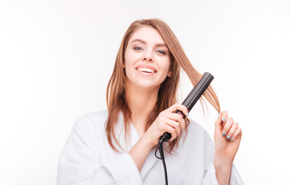 Avoiding Heat Damage with a Flat Iron Tribeca Salon Tampa
