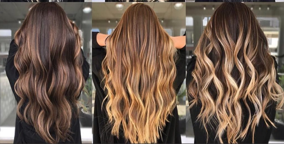 South Tampa Balayage Hair Styles